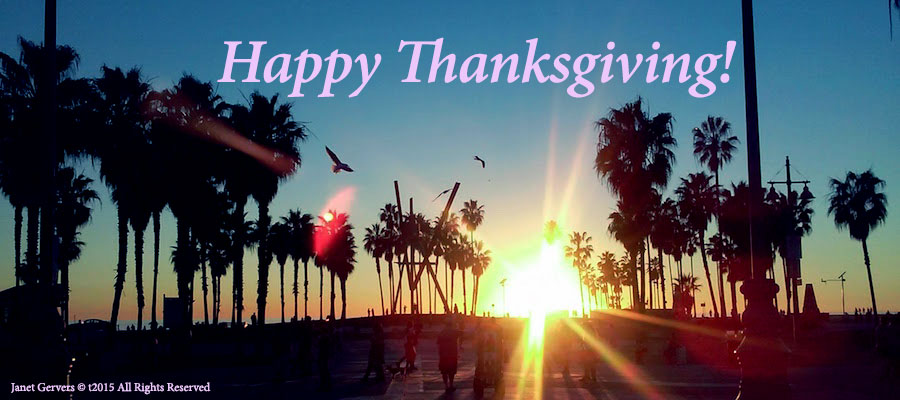 Happy Thanksgiving To You & Your Family from Jagmedia in Venice Beach!