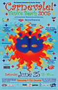 Venice Carnevale-Poster Winning Design JAnet Gervers