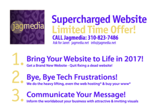 Jagmedia-Supercharged Website-2017 Venice & Culver City, CA