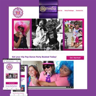 Kids Party Website Jagmedia Creative, Santa Monica