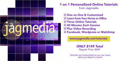 Offer Online Tutorials from Jagmedia