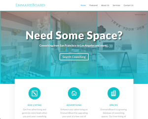 Coworking Website WordPress website by Jagmedia