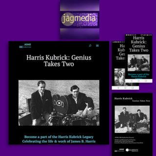 Entertainment Website, Documentary Film Website Design, Jagmedia