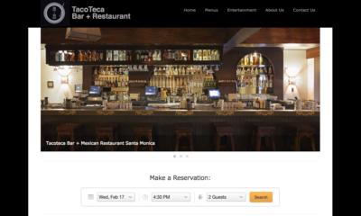 Restaurant Web Design JAGmedia