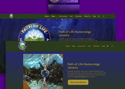 Path of Life, E-Commerce Website