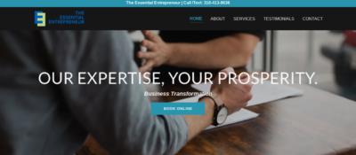 Business Coaching Website by JAGmedia OmniDesign Santa Monica