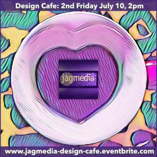 JOin Jagmedia at Deswign Cafe 2nd Fridays 2pm for Design Insider Knowledge