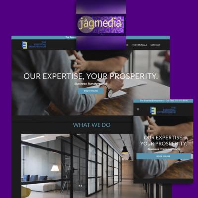 Business Coaching Website Designed by Jagmedia in Santa Monica
