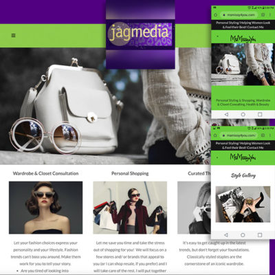 Personal Stylist website los angeles created by Jagmedia Venice Beach Ca