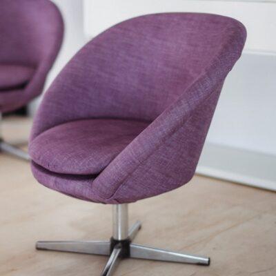 purple chair at JAGmedia Santa Monica CA Design Studio