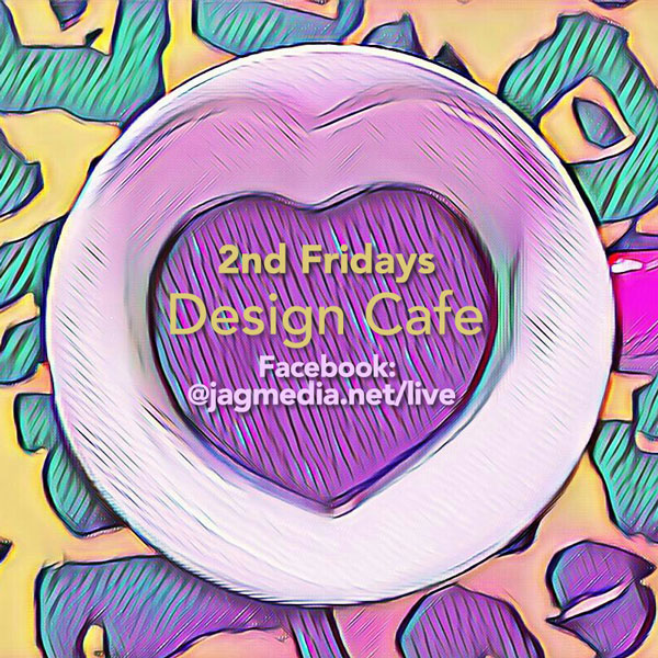 Design Cafe Event on Facebook Live Hosted by Janet Gervers, JAGmedia