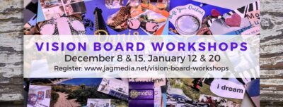 Vision Board Workshop JAGmedia in Dec 2020 & Jan 2021