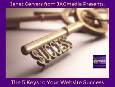5 Keys Website Success presented byJAGmedia