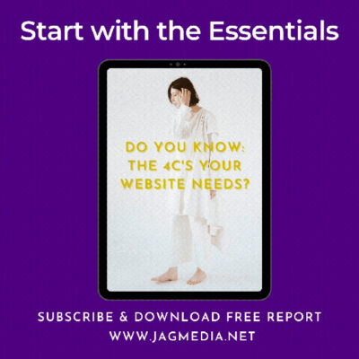 Free Report- Do you know the 4cs JAGmedia