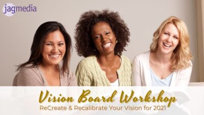 The Visioning Experience Vision Board Workshop & Course 2021