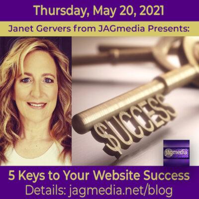 Five-Keys-to-Your-Website-Success-JAGmediaJAGmedia