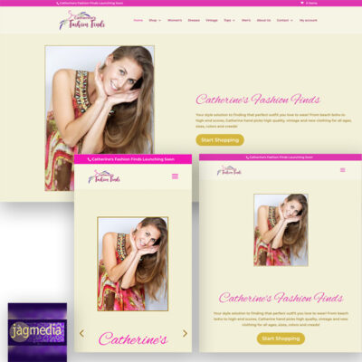 Catherine's Fashion Finds- Online Store by JAGmedia 2021